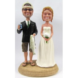 NEW CERAMIC BRIDE /& GROOM WEDDING CAKE TOPPERS YOUR CHOICE OF THREE 3