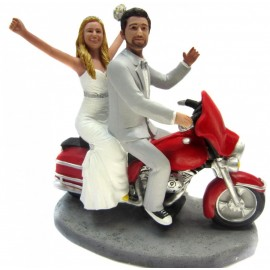 Today thirty Harley motorcycle wedding cake toppers let you fly with ...